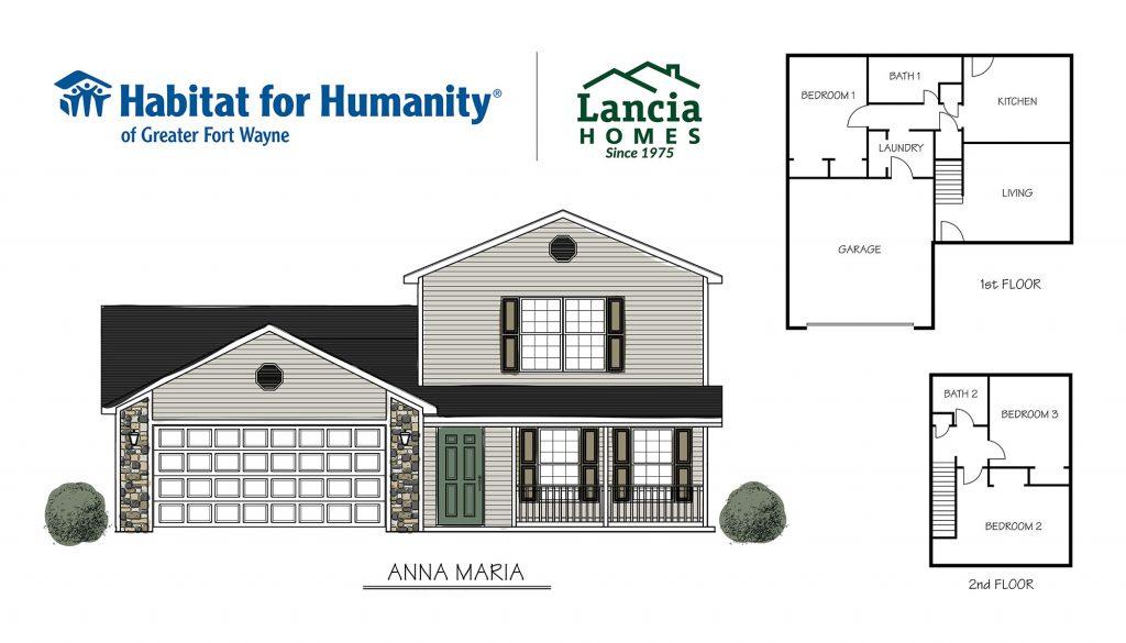 Anna Maria Floorplan - Habitat for Humanity of Greater Fort Wayne
