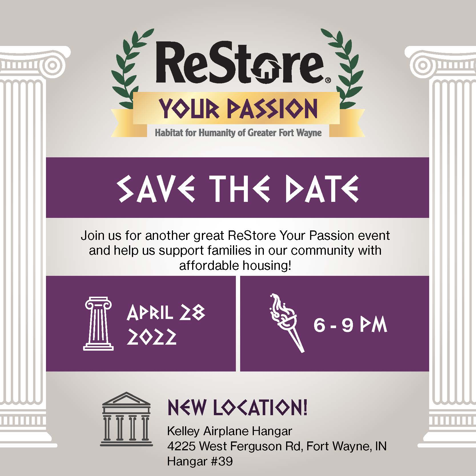 ReStore Your Passion 2021_Save the Date